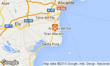 Carte Alicante Villa 96009