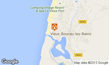 Carte Vieux Boucau Appartement 10054