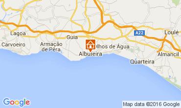 Carte Albufeira Appartement 105653