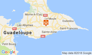 Carte Sainte Anne (Guadeloupe) Maison 115139