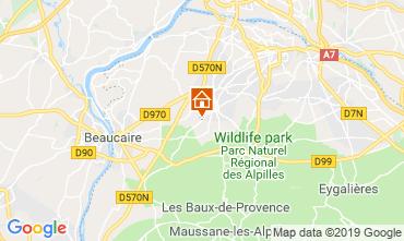 Carte Saint Rémy de Provence Gite 118685