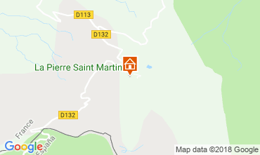 Carte Arette La Pierre Saint Martin Appartement 3958