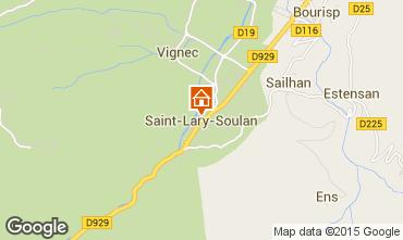 Carte Saint Lary Soulan Appartement 4515