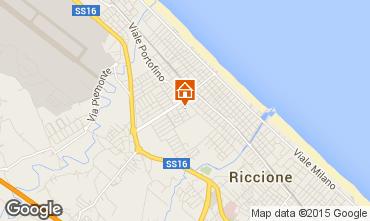 Carte Riccione Appartement 41943