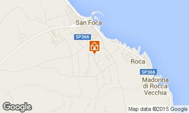 Carte San Foca Appartement 79395