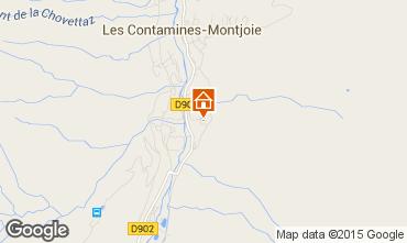 Carte Les Contamines Montjoie Maison 16107