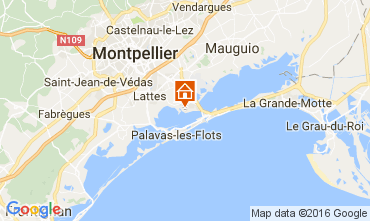 Carte Montpellier Mobil-home 107400