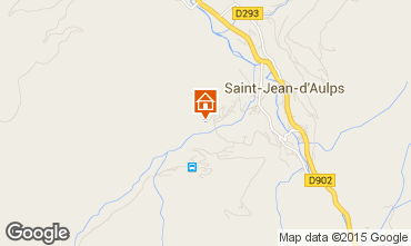 Carte Saint Jean d'Aulps- La Grande Terche Chalet 55341