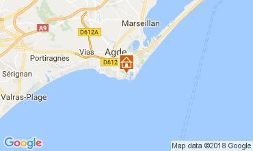 Carte Cap d'Agde Appartement 99840