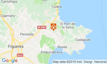 Carte Rosas Villa 113995