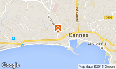 Carte Cannes Appartement 93218