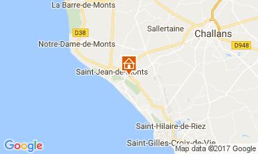 Carte Saint Jean de Monts Mobil-home 112267