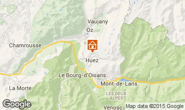 Carte Alpe d'Huez Appartement 50