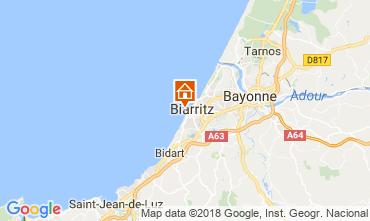 Carte Biarritz Studio 114010