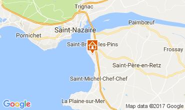 Carte Saint Brevin les Pins Maison 52156