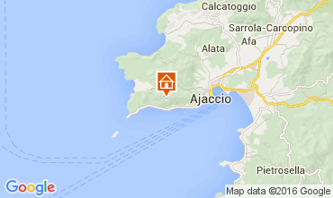 Carte Ajaccio Studio 103586