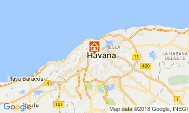 Carte La Havane Chambre d'hôte 113566