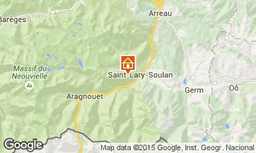Carte Saint Lary Soulan Appartement 73955