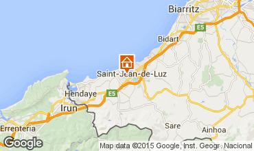 Carte Saint Jean de Luz Appartement 22188