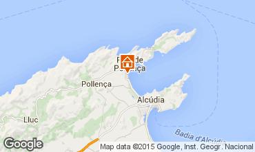 Carte Puerto Pollensa Appartement 63957