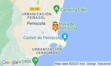Carte Peñíscola Appartement 118509
