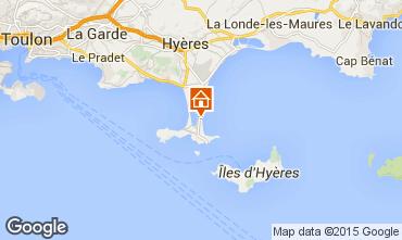 Carte Hyères Studio 83506