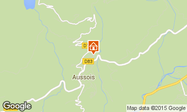 Carte Aussois Gite 58490