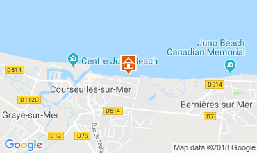 Carte Courseulles-sur-Mer Appartement 116398