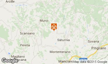 Carte Saturnia Villa 70557