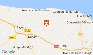 Carte Bayeux Gite 111364