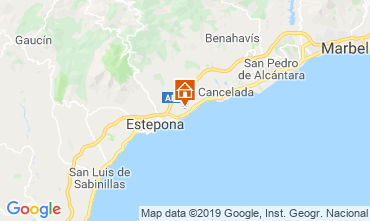 Carte Estepona Villa 119361