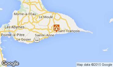Carte Sainte Anne (Guadeloupe) Appartement 101800
