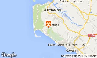 Carte La Palmyre Mobil-home 41470