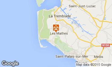 Carte La Palmyre Mobil-home 80969