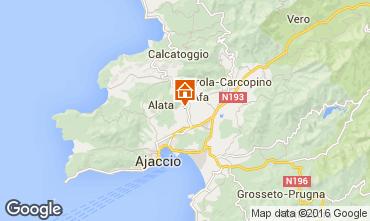 Carte Ajaccio Villa 102648