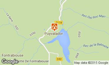 Carte Puyvalador Maison 4882