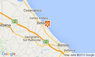 Carte Bellaria Igea Marina Appartement 103828