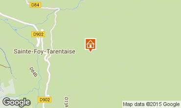 Carte Sainte Foy Tarentaise Chalet 4777