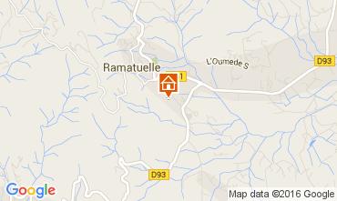 Carte Ramatuelle Gite 104481