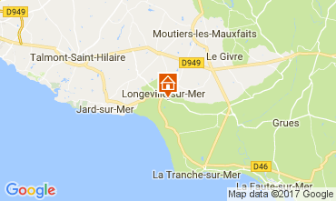 Carte Longeville sur Mer Villa 112665