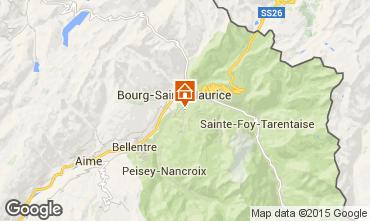 Carte Les Arcs Chalet 27529