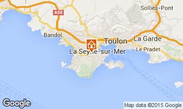 Carte La Seyne sur Mer Maison 78524