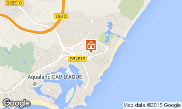 Carte Cap d'Agde Appartement 98120