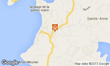 Carte Sainte Anne (Martinique) Appartement 8128
