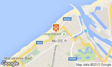 Carte Ostende Appartement 97671