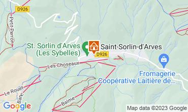 Carte Saint Sorlin d'Arves Studio 81448