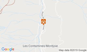 Carte Les Contamines Montjoie Chalet 923