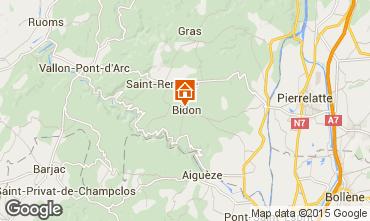 Carte Vallon-Pont-D'Arc Maison 75616