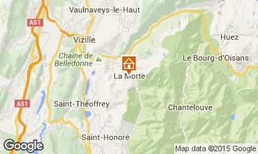 Carte Alpe du Grand Serre Studio 116