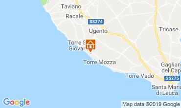 Carte Ugento - Torre San Giovanni Villa 104522